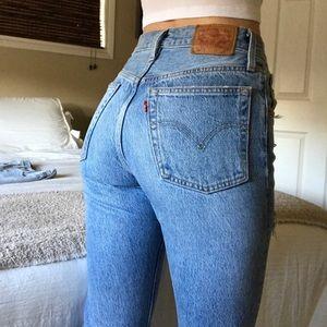 Levi's 501 High-Waisted Jeans